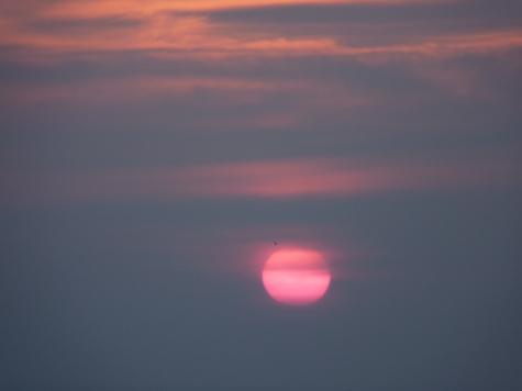 SR sunset